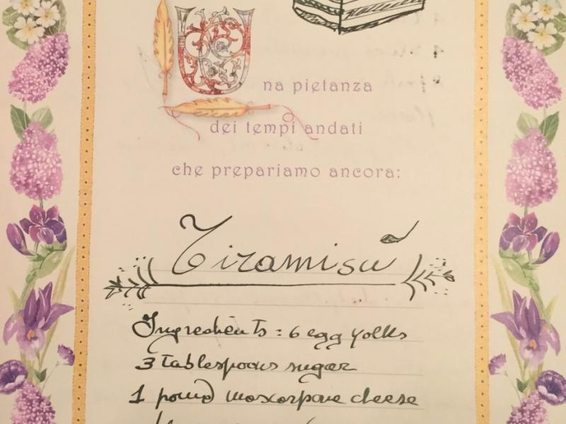 ricetta Tiramisu